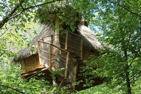 chambre dans les arbres cabane dans les arbres chapelle rablais la seine et