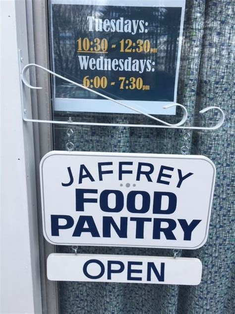 Food Pantry Hours Food Pantry New Hours The United Church Of Jaffrey