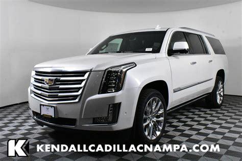 2019 Cadillac Esv by New 2019 Cadillac Escalade Esv Platinum 4wd In Na