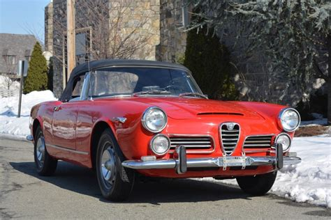 Alfa Romeo 2600 Spider by 1964 Alfa Romeo 2600 Spider Stock 19949 For Sale Near