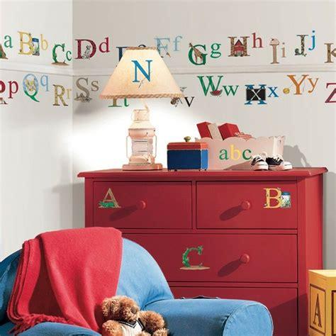 alphabet removable vinyl wall decals kids room decor