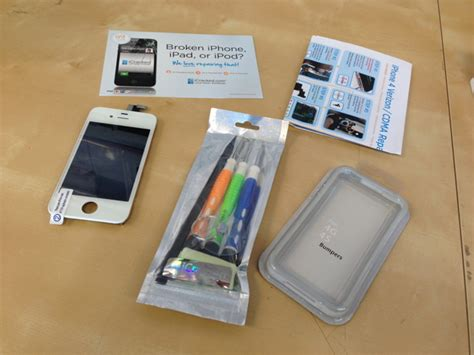 iphone screen repair denver a diy iphone screen repair kit from icracked xconomy 3331