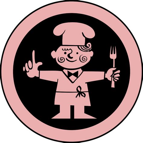 pictogramme cuisine gambar koki kartun clipart best