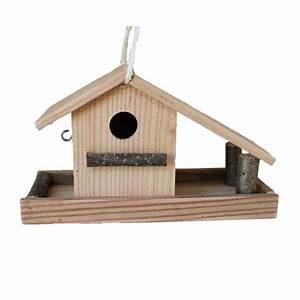 Plan Nichoir Oiseaux : le nichoir et mangeoire pour oiseaux en bois douglas certifi pefc ~ Melissatoandfro.com Idées de Décoration