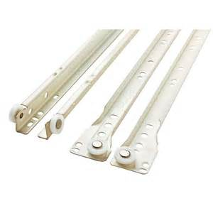 12 in self closing bottom mount drawer slide 1 pair