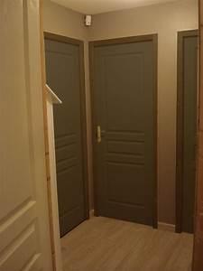 Peinture Encadrement Fenetre Interieur : quel couleur pour les portes de mon palier ~ Premium-room.com Idées de Décoration