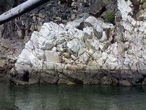 8. A close view of white marble rocks