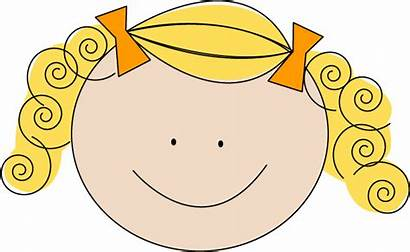 Blonde Clipart Blond Haired Clip Cartoon Cliparts