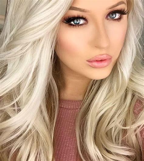 Blond Hair Blue by Makeup For Blue Hair You Mugeek Vidalondon