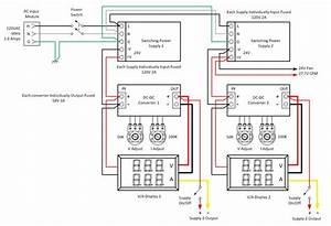 Adjustable Line Output Converter Diagram