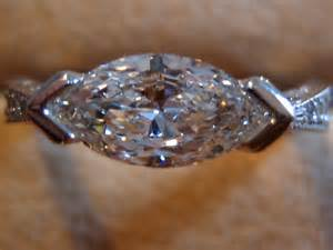 wedding rings engraving ideas e w 82 marquise with greenlake jewelry works custom