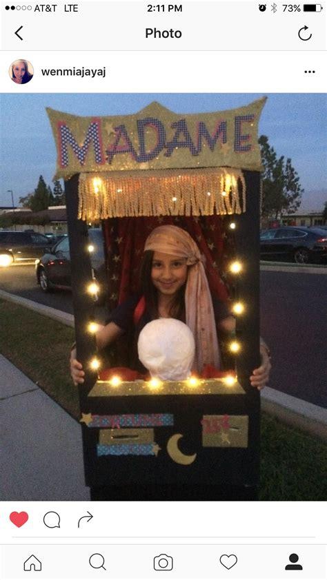 halloween diy homemade fortune teller madame mia