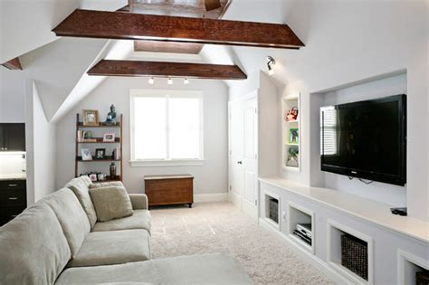 Bonus Rooms  Traditional  Family Room  Raleigh By