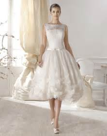 custom made wedding dresses new vintage style neck tea length lace wedding dresses bridal gowns custom made size