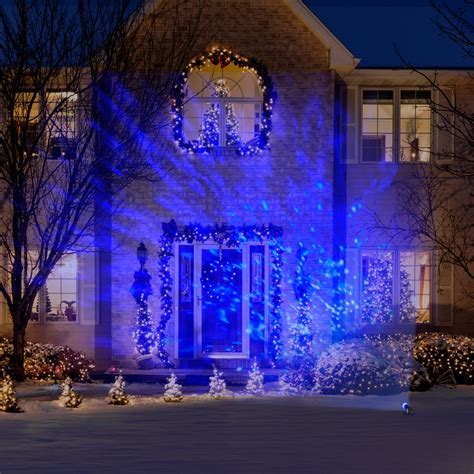 christmas light projection gemmy lightshow lights led projection kaleidoscope lights icy blue ebay