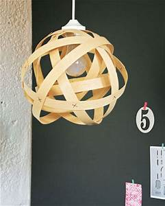 Aus Holz Basteln : bastelideen pendelleuchte aus holz basteln ~ Lizthompson.info Haus und Dekorationen