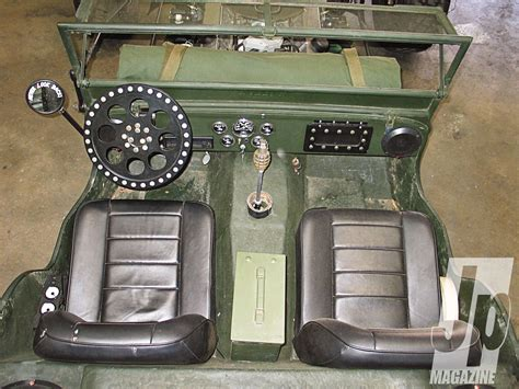 willys jeepster interior rod rods retro military jeep willys interior d