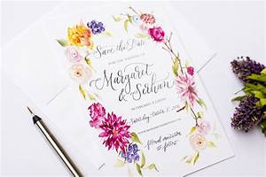 lemontree calligraphy watercolour wedding invitations003 With lemon tree wedding invitations