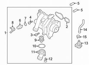 2014 Audi A4 Water Hose With Quick
