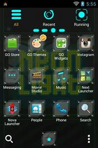 Neon Light Android Theme For Go Launcher