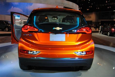 Autonomous Chevy Bolt Taxis To Be Tested On Public Roads