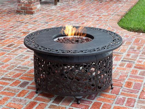outdoor how to create outdoor valley gas pits table