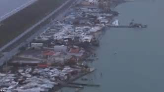 Hurricane Irma Boats Destroyed by Hurricane Irma Aerial Photos Reveal Path Of