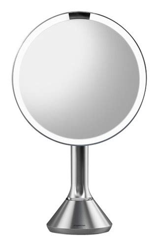 simplehuman vanity mirror simplehuman lighted sensor activated vanity makeup mirror