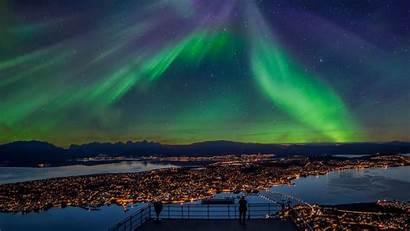 Tromso Northern Agency Travel Norway Tromsoe Lights