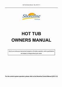 Shoreline Hot Tub Specifications