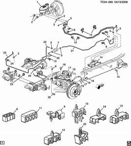 2003 Chevy Suburban Brake Line Diagram