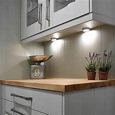 Led Kitchen Under Cabinet Puck Lighting 5000k 25w Halogen