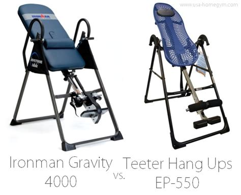 teeter inversion table instructional video teeter hang ups ep 550 inversion table review