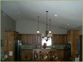 decorating ideas for above kitchen cabinets vaulted ceiling lighting home design ideas