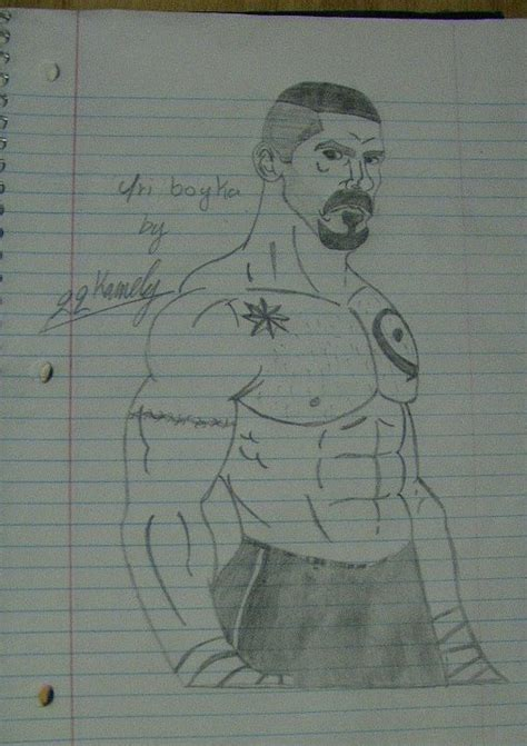 boyka art scott adkins fan art  fanpop