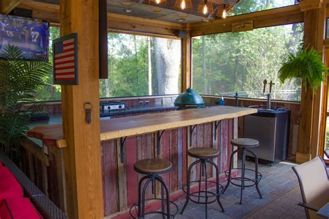 Rustic Home Interior - featured project rustic pool house green guys