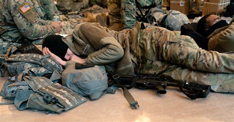national guard troops sleeping   capitol finding