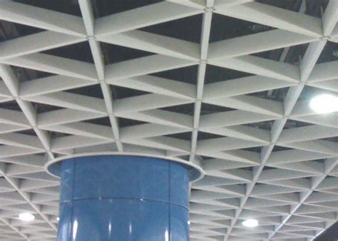 Metal Ceiling Grid by Suspended Decorative Metal Grid Ceiling Aluminum Triangle