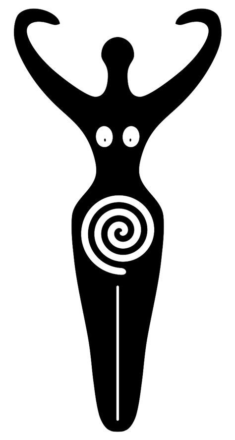 African Mother Earth Symbol