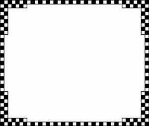 Checkerboard Border Clip Art - ClipArt Best