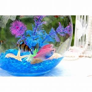Deko Fische Zum Aufhängen : lila kunststoff kunstpflanze wasserpflanze f r aquarium ~ Lizthompson.info Haus und Dekorationen