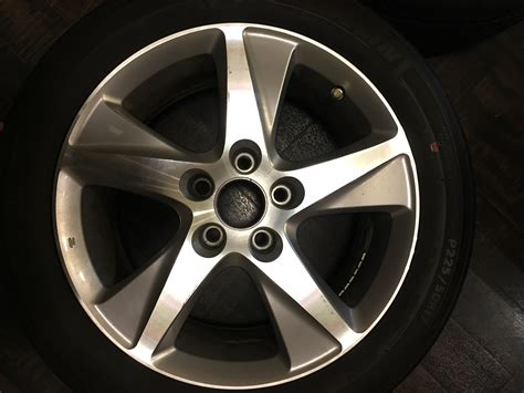 2012 acura tsx rims fs 2012 acura tsx tech stock wheels and tires acurazine