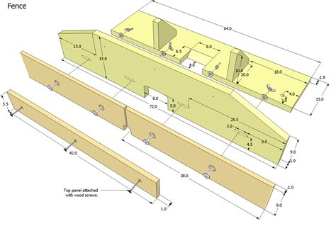 router table fence design  woodworking