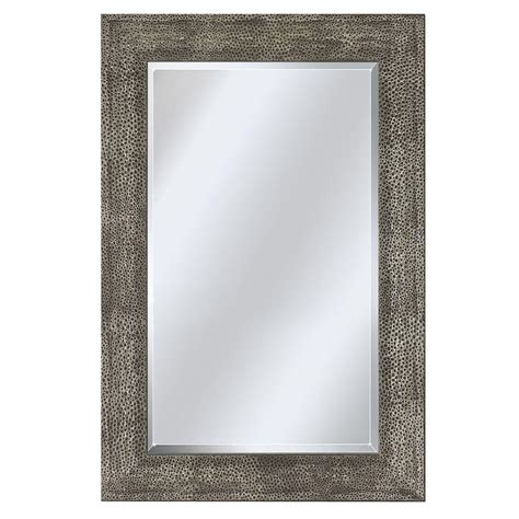 Home Depot Bathroom Vanity Mirrors by Framed Stainless Steel Bathroom Mirrors The Home Depot