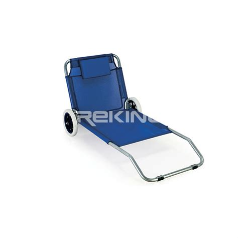 folding chair with wheels and soft pillow buy