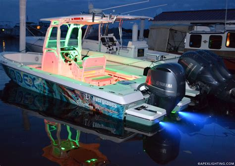Underwater Boat Lights Lumitec by Installing A Pair Of Lumitec Seablaze X Led Underwater