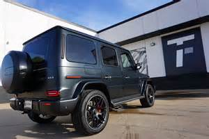 It's safe to say that most onlookers won't be able to quickly tell apart the two. Used 2020 Mercedes-Benz G-Class AMG G 63 For Sale ($219,900) | Tactical Fleet Stock #TF1542