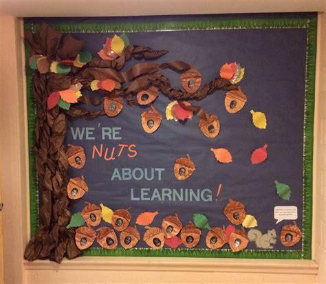 fall boards preschool fall bulletin board quot we re nuts about learning 884
