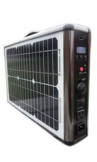 Portable Emergency Solar Power