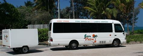 Douglas To Cairns by Douglas To Cairns Airport Shuttle Sun Palm